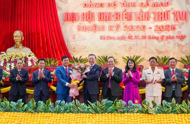 Ông Nguyễn Tiến Hải tái đắc cử Bí thư Tỉnh uỷ Cà Mau - ảnh 1