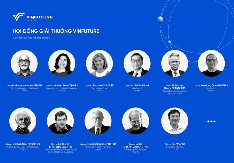 Vingroup công bố giải thưởng khoa học và công nghệ toàn cầu  - ảnh 1