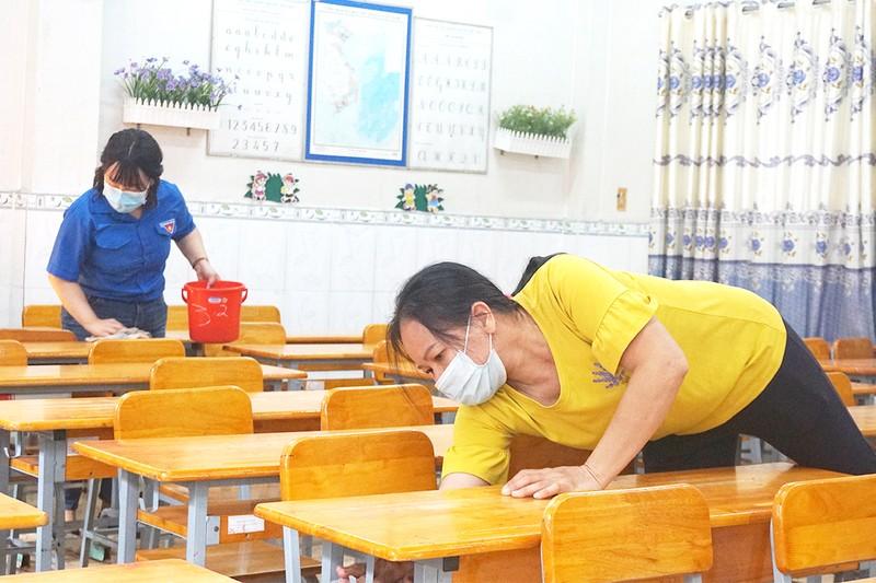 Trường học vừa phòng dịch, vừa tăng tốc dạy học - ảnh 1