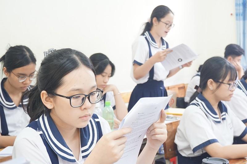 TP.HCM tuyển gần 68.000 chỉ tiêu vào lớp 10 công lập - ảnh 1