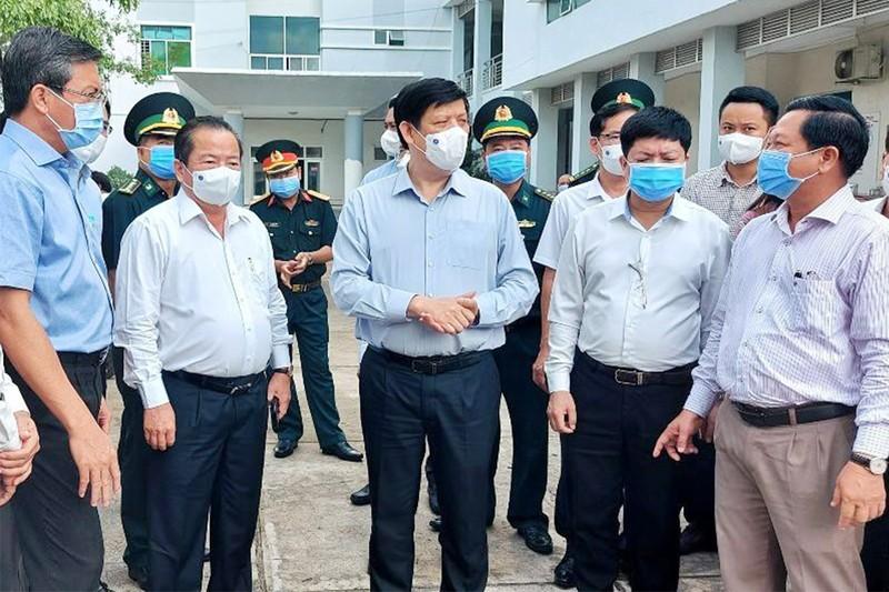 Kiên Giang sắp có bệnh viện dã chiến 300-500 giường - ảnh 1