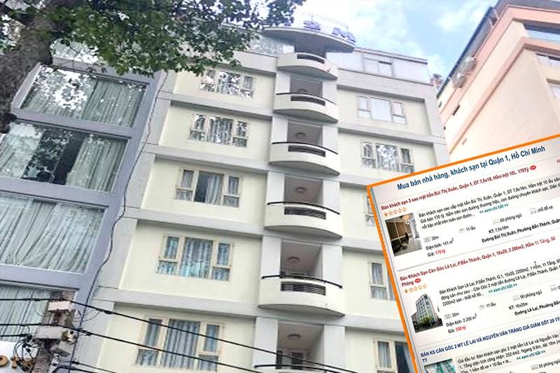 Hàng loạt khách sạn ở TP.HCM đang được rao bán   - ảnh 1