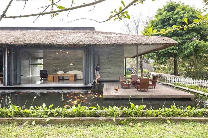 Thú vị với ngoại thất gỗ nhân tạo cho ngôi nhà - ảnh 1