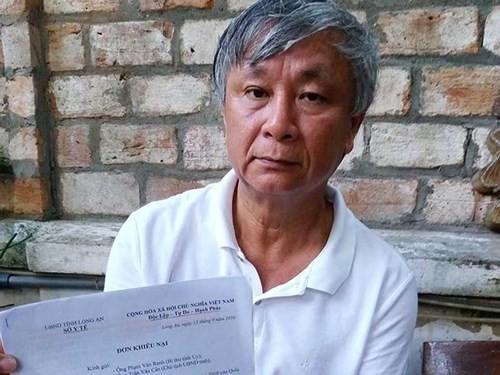 Văn phòng Trung ương Đảng chuyển đơn kêu oan của cựu GĐ Sở  - ảnh 1