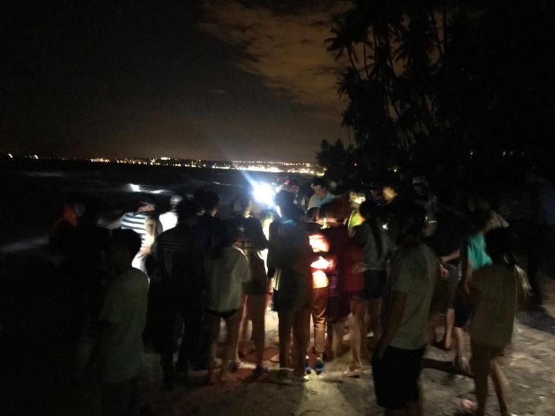 Đã tìm thấy thi thể 4 sinh viên bị sóng cuốn ở biển Bình Thuận - ảnh 1