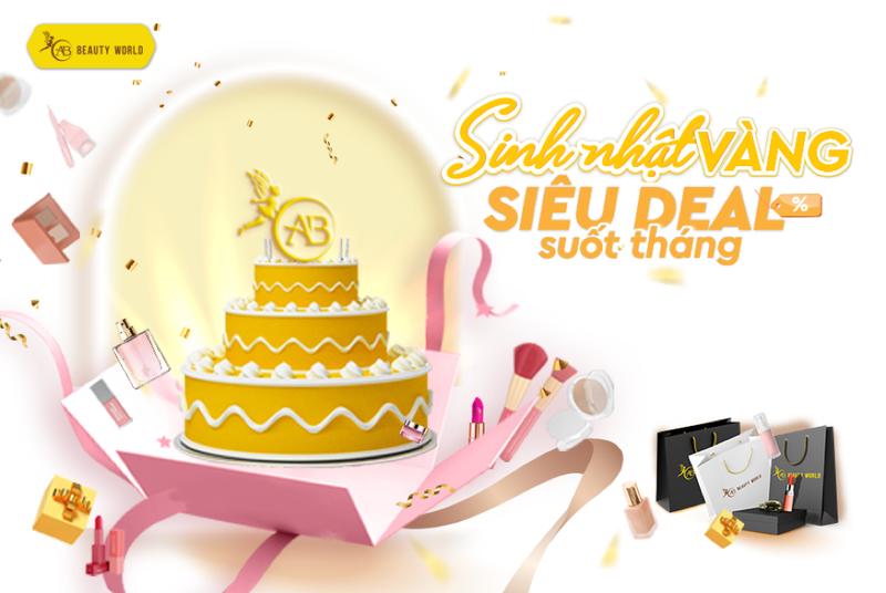 Mỹ phẩm chính hãng sale đồng giá từ 1.000 đồng mừng sinh nhật AB Beauty World - ảnh 1