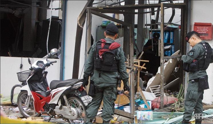 Phiến quân Thái Lan lại bạo động: bốn người chết - ảnh 1