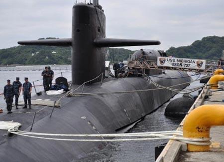 Tàu ngầm hạt nhân của Mỹ đã được triển khai tại Biển Đông - ảnh 1