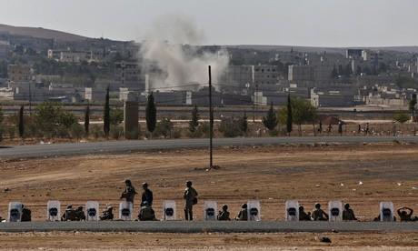IS 'vượt không kích' của phương tây, áp sát biên giới Thổ Nhĩ Kỳ - ảnh 1