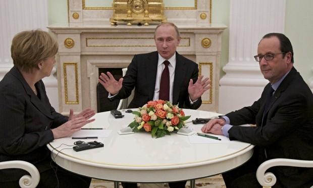 Lãnh đạo 4 nước điện đàm giải quyết vấn đề Ukraine - ảnh 1