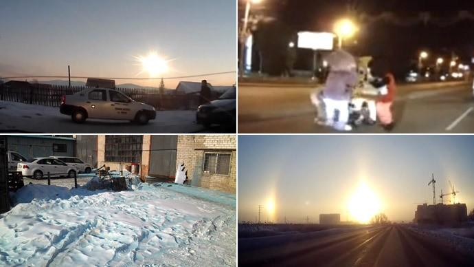 Bí ẩn vùng đất Tuyết xanh, Thiên thạch và ba Mặt trời - ảnh 1