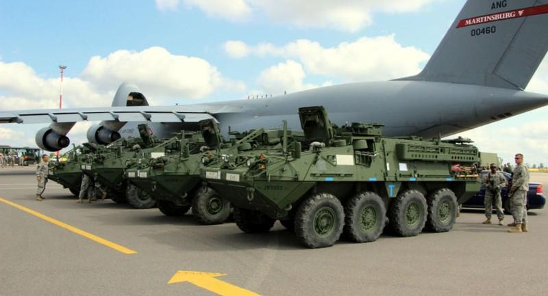 Lo ngại Nga, Mỹ nâng hỏa lực xe bọc thép  - ảnh 1