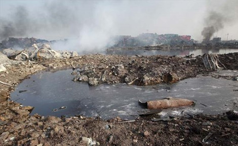 Thêm 4 đám cháy mới bùng phát tại 'hỏa ngục' Thiên Tân - ảnh 1