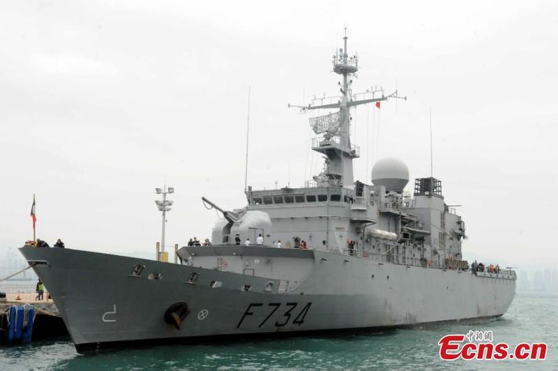 Tàu chiến Pháp thăm Trung Quốc ngay sau Mỹ tuần tra biển Đông - ảnh 1