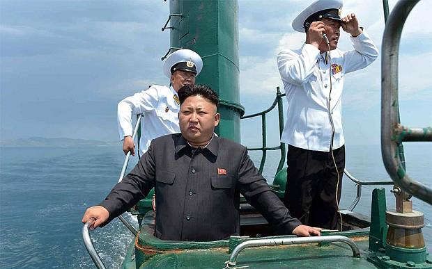 Triều Tiên sắp đóng tàu ngầm hạt nhân có tên lửa đạn đạo - ảnh 1