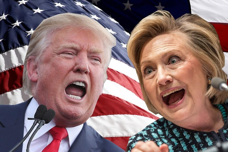 Hillary Clinton và Donald Trump 'ít được yêu thích nhất thập kỷ' - ảnh 1