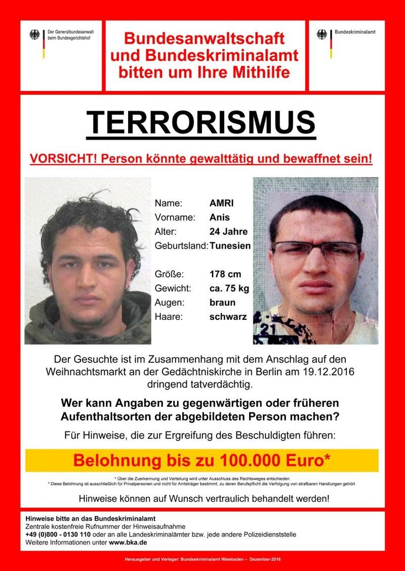 Bị cảnh sát theo dõi vẫn tấn công chợ Berlin trót lọt - ảnh 2
