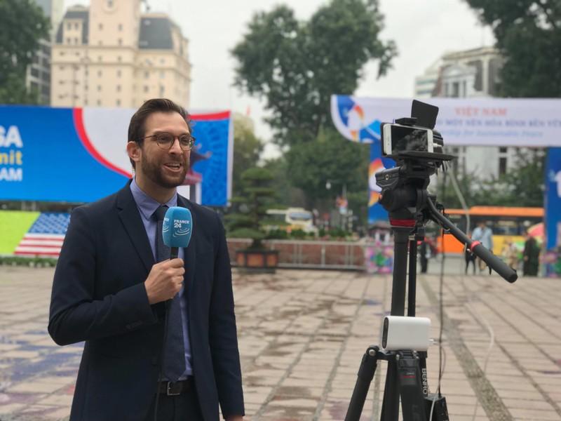 Mỹ-Triều ngày 1: Trump-Kim bắt tay 'lịch sử' giữa lòng Hà Nội - ảnh 44