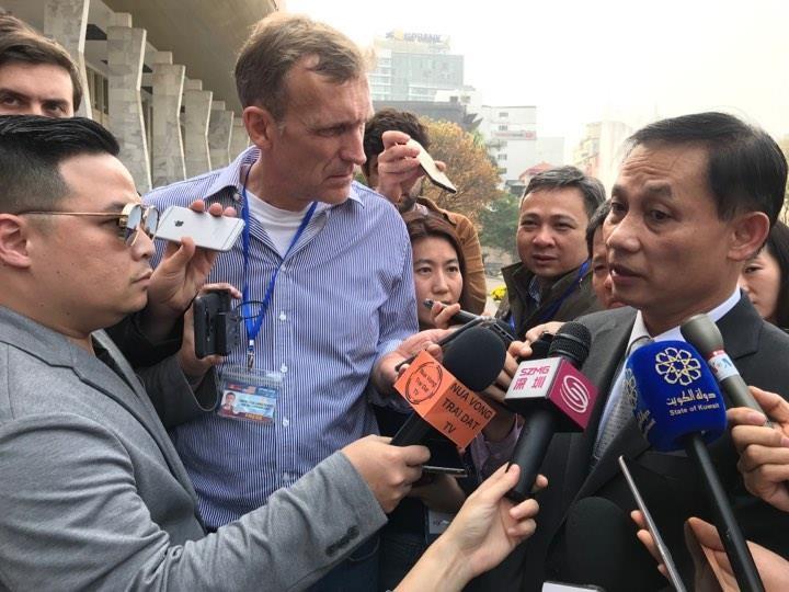 Mỹ-Triều ngày 1: Trump-Kim bắt tay 'lịch sử' giữa lòng Hà Nội - ảnh 28