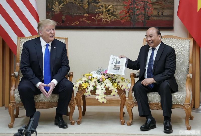 Mỹ-Triều ngày 1: Trump-Kim bắt tay 'lịch sử' giữa lòng Hà Nội - ảnh 40