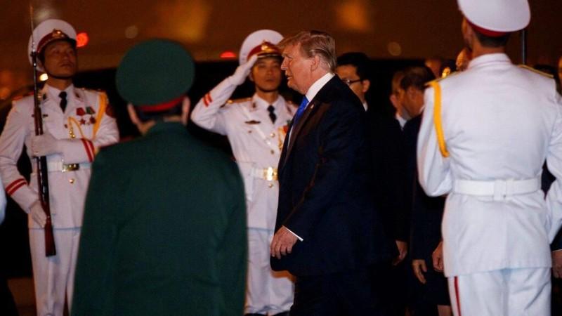 Mỹ-Triều ngày 1: Trump-Kim bắt tay 'lịch sử' giữa lòng Hà Nội - ảnh 64