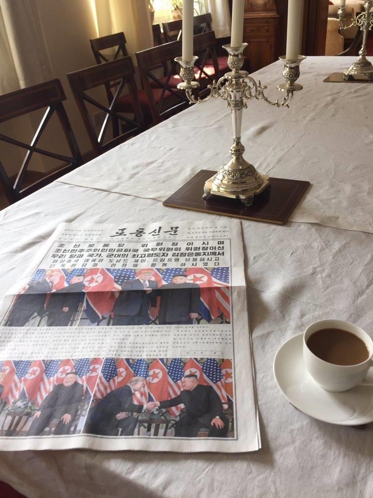 Ngày 2 thượng đỉnh Mỹ-Triều: Trước phấn khởi, sau tiếc nuối - ảnh 16