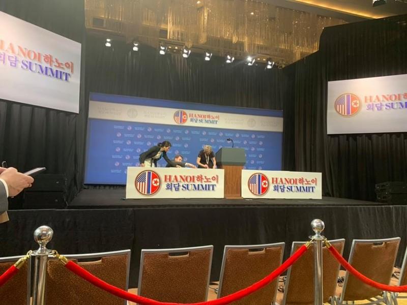 Ngày 2 thượng đỉnh Mỹ-Triều: Trước phấn khởi, sau tiếc nuối - ảnh 9