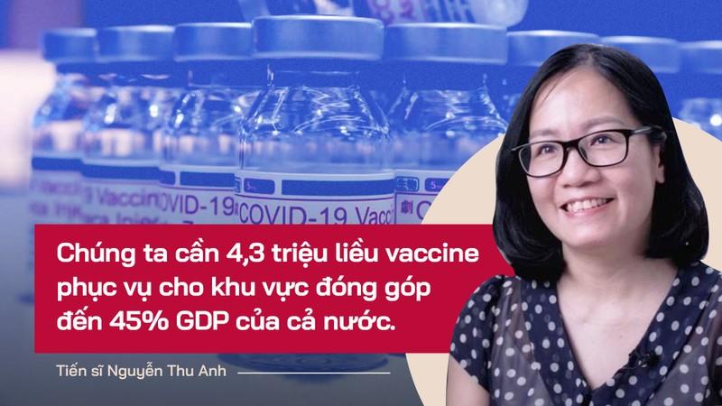 Chuyên gia: TP.HCM cần tiêm 1 triệu liều vaccine để đảm bảo tiêu chí mở cửa - ảnh 1