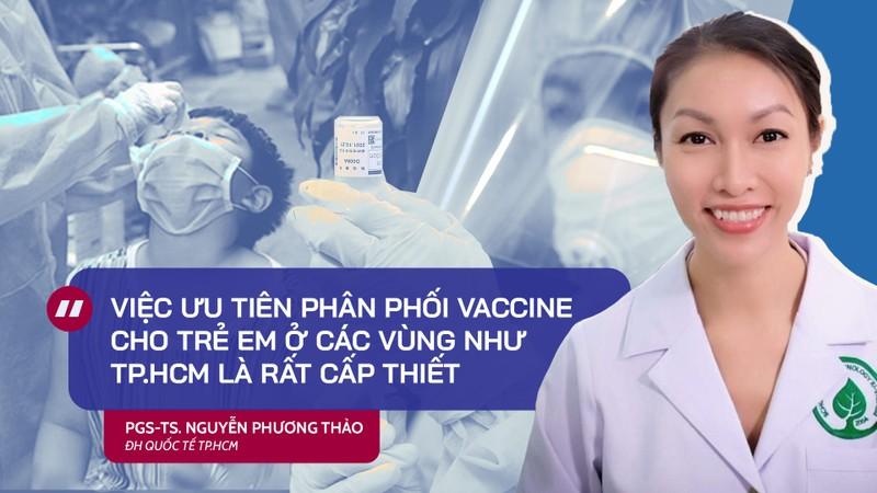 Chuyên gia lý giải độ an toàn, tính cấp thiết việc tiêm vaccine cho trẻ em - ảnh 1