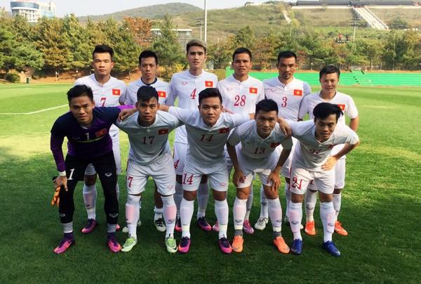 Đội tuyển Việt Nam hòa sinh viên Đại học Jeonju 1-1 - ảnh 1