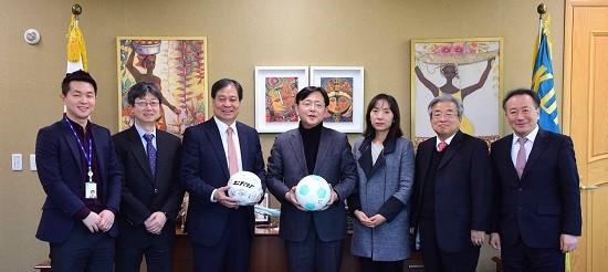 Ban tổ chức FIFA U-20 World Cup chào đón U-19 Việt Nam - ảnh 1