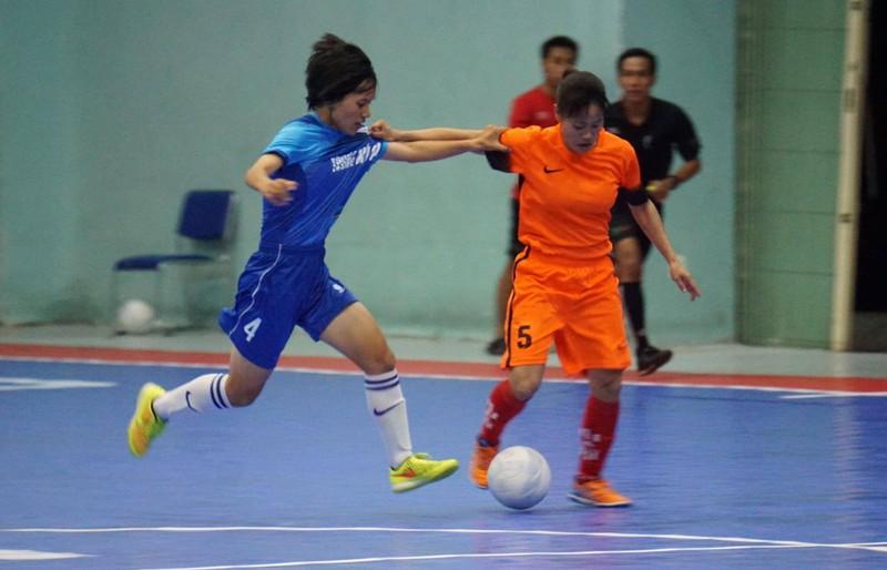Tưng bừng khai mạc giải Futsal nữ TP.HCM mở rộng - ảnh 3