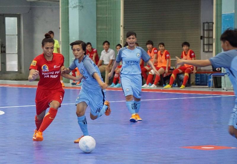 Tưng bừng khai mạc giải Futsal nữ TP.HCM mở rộng - ảnh 5