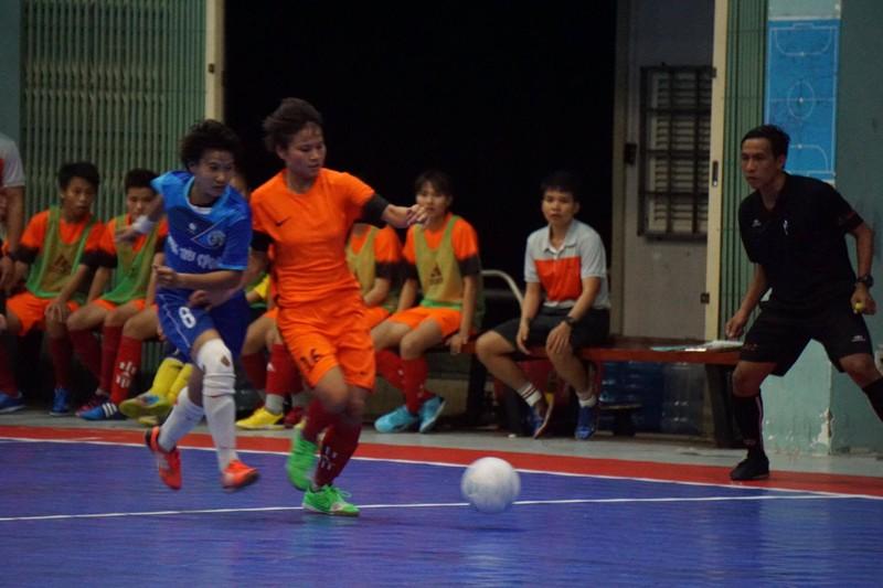 Tưng bừng khai mạc giải Futsal nữ TP.HCM mở rộng - ảnh 4