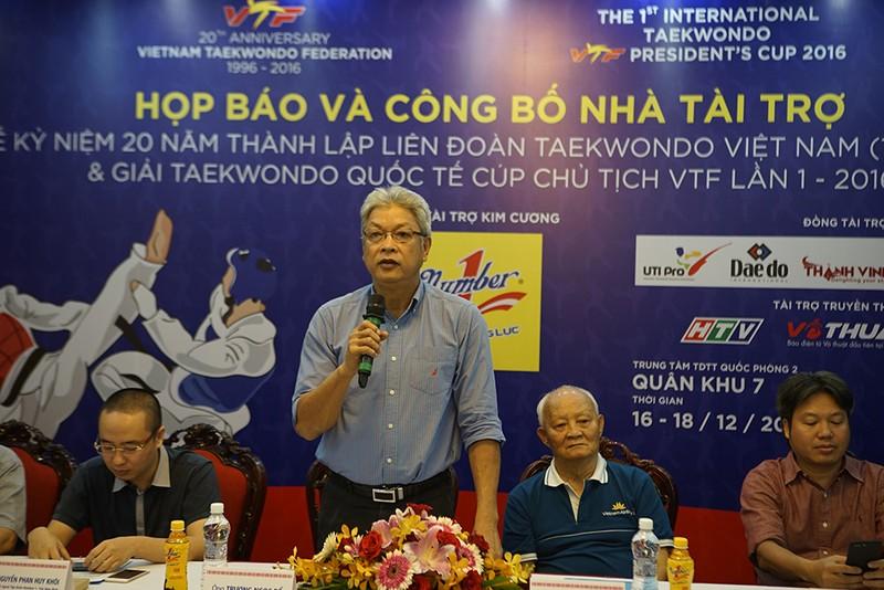 Vinh danh 20 năm Taekwondo Việt Nam - ảnh 1