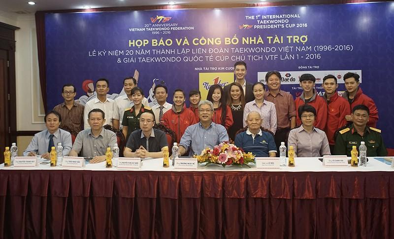 Vinh danh 20 năm Taekwondo Việt Nam - ảnh 2