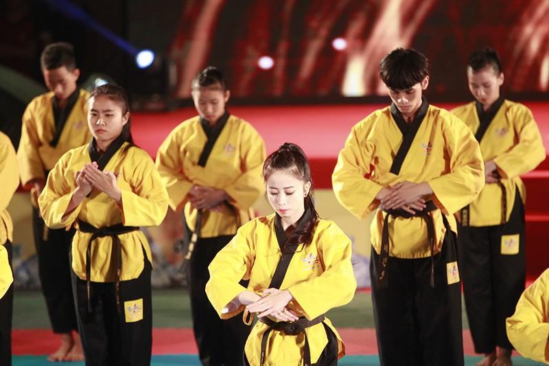Tưng bừng lễ kỷ niệm 20 năm Taekwondo Việt Nam - ảnh 4