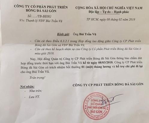 CLB Sài Gòn sai sót hay 'lập lờ đánh lận con đen'? - ảnh 2
