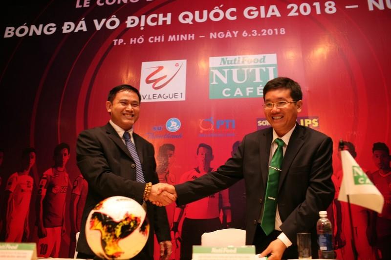 NutiFood đỡ đầu V-League, mơ đào tạo trẻ hơn U-23 VN - ảnh 1
