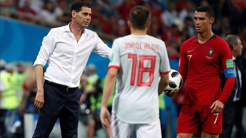 HLV Hierro: 'Không đổi cầu thủ Tây Ban Nha nào để lấy Ronaldo' - ảnh 1
