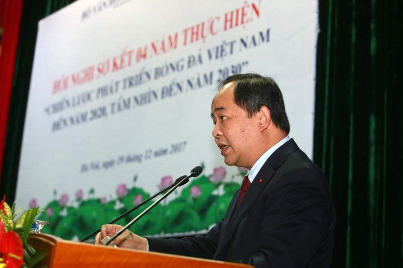 Ông Nguyễn Công Khế rút tên ứng cử Chủ tịch VFF - ảnh 1