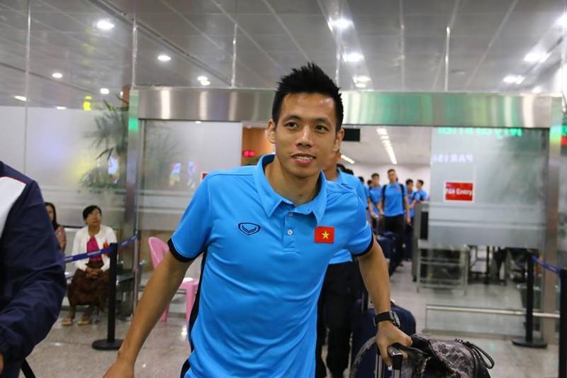 Thầy trò Park Hang-seo đã đến Myanmar chuẩn bị quyết đấu - ảnh 1