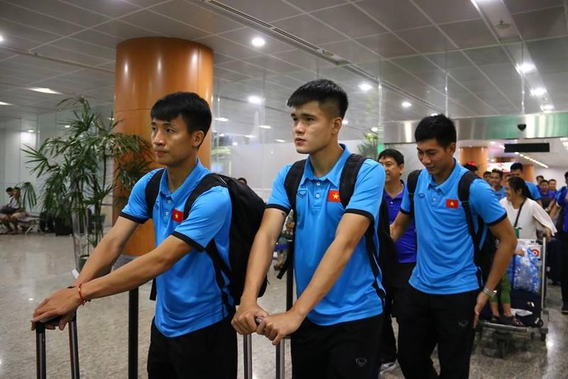 Thầy trò Park Hang-seo đã đến Myanmar chuẩn bị quyết đấu - ảnh 2
