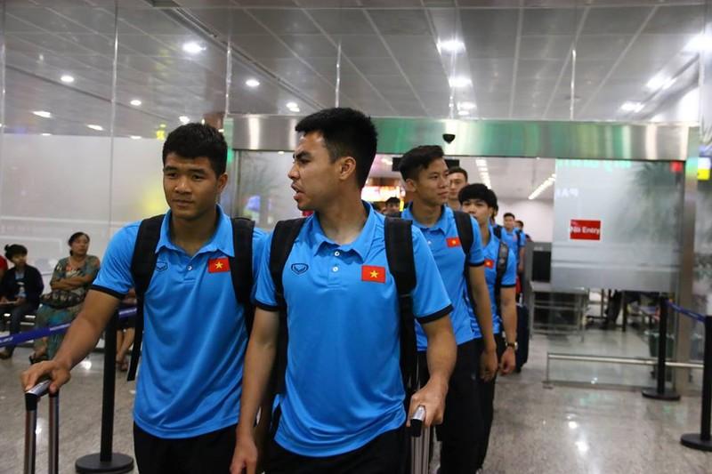 Thầy trò Park Hang-seo đã đến Myanmar chuẩn bị quyết đấu - ảnh 4