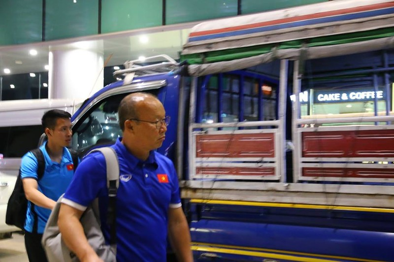 Thầy trò Park Hang-seo đã đến Myanmar chuẩn bị quyết đấu - ảnh 5