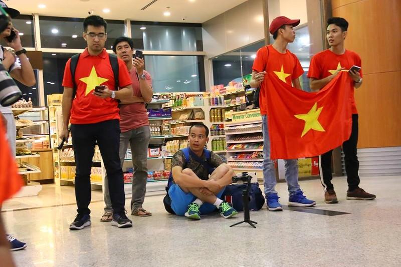 Thầy trò Park Hang-seo đã đến Myanmar chuẩn bị quyết đấu - ảnh 7