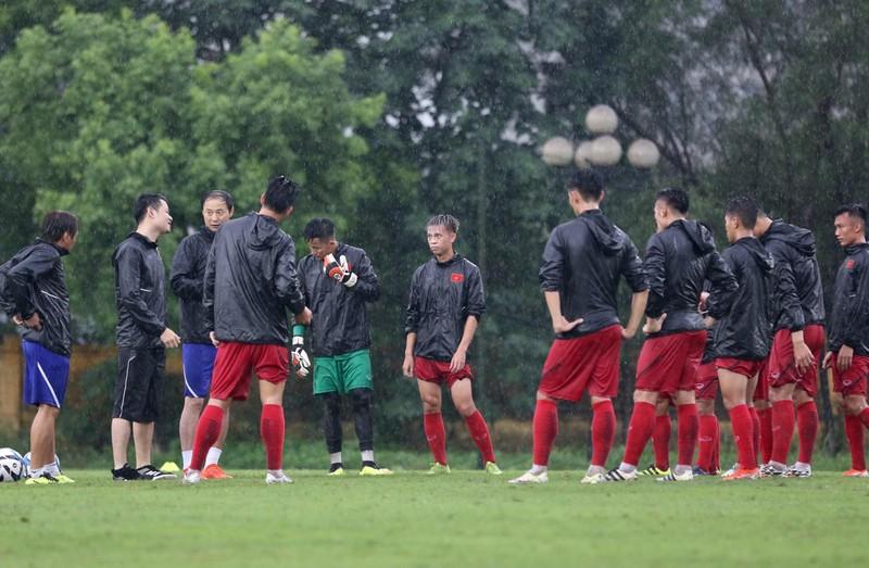 U-23 Việt Nam tập buổi đầu tiên với thầy mới Kim Han-yoon - ảnh 1