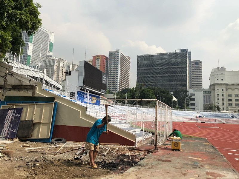 Rizal Memorial chờ thầy trò ông Park đá chung kết SEA Games - ảnh 8