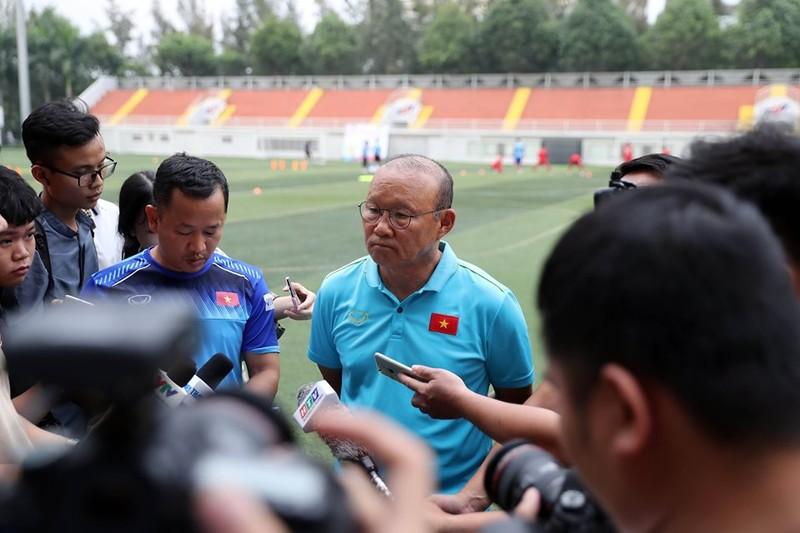 Ông Park: 'Tôi có nhiều niềm tin về ngôi vô địch SEA Games!' - ảnh 1