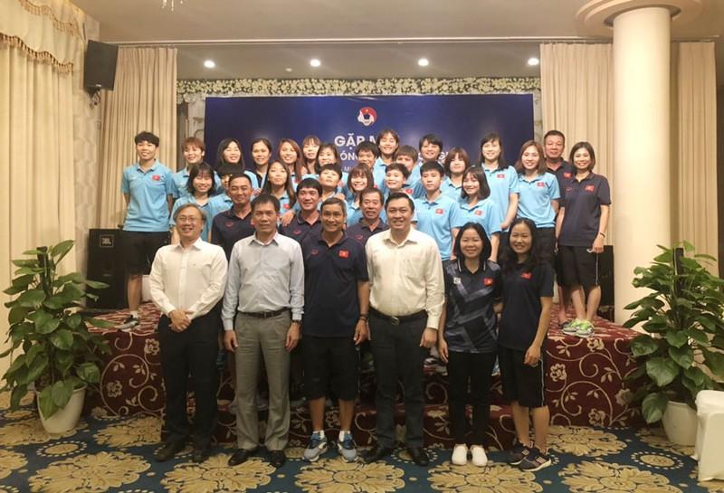 Thầy trò Park Hang-seo 'xông đất' Manila - ảnh 12